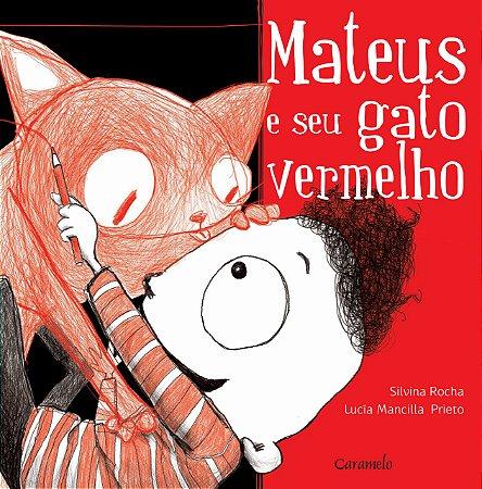 Mateus e seu gato vermelho