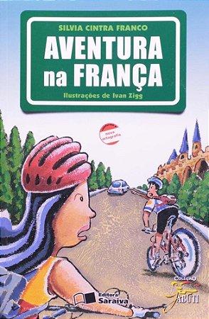 Aventura Na França - Nova Ortografia - Col. Jabuti