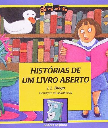 Histórias de Um Livro Aberto - Col. Dó - Ré - Mi - Fá