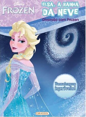 Elsa, a rainha da neve - Disney Diversão com Frozen