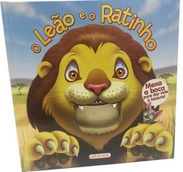 O Leão e o Ratinho - Mexa a boca para dar vida à história!