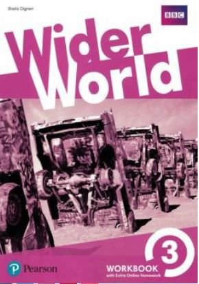 Wider World 3 Wb With Online Homework Pack - 1st Ed