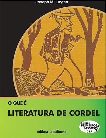 O QUE É LITERATURA DE CORDEL