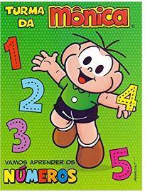 Turma da Mônica - Vamos aprender os números