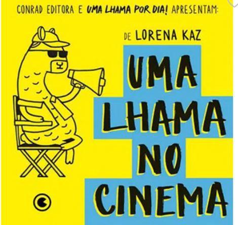 UMA LHAMA NO CINEMA