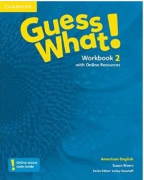 Guess What! 2 Workbook With Online Resources - American