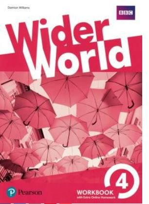 Wider World 4 Wb With Online Homework Pack - 1st Ed