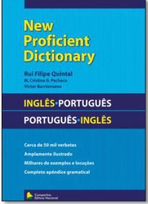 New Proficient Dictionary - Ingles / Portugues - Portugues / Ingles