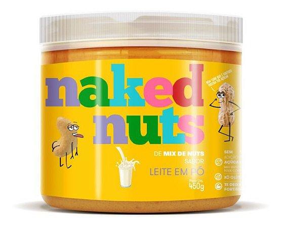 Naked Nuts Pasta Castanha Mix De Nuts Com Leite Em Pó 450g