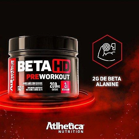Atlhetica Treino Beta Hd Pre Treino 240g Com Beta Alanina