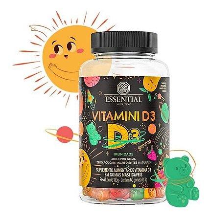 Vitamina D3 60 Gomas 400ui Por Gummys Gummies Gominhas
