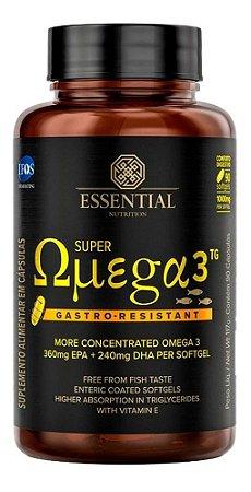 Super Omega 3 Tg Gastro Resistant 90caps Novidade Essential