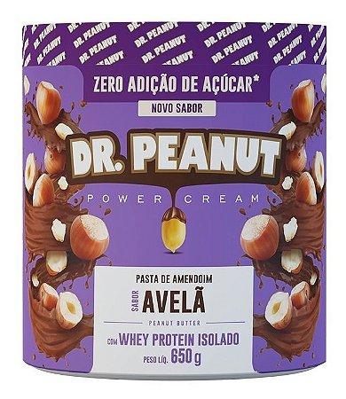 Pasta De Amendoim Com Whey Isolado 650g - Dr Peanut