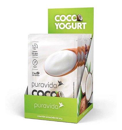 Probiogurte Cocoyogurt Pura Vida 10 Saches 30g Vegano