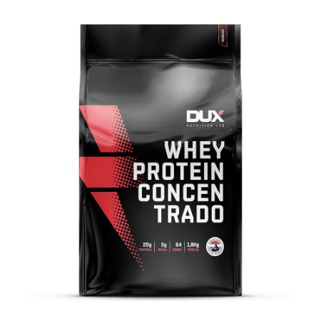 Whey Concentrado Refil - 1800g + Coqueteleira- Dux Nutrition