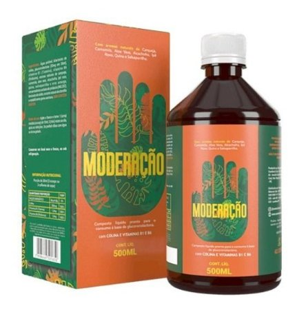 Use Moderação 500 Ml Detox 7 Ervas E 3 Vitaminas Juju