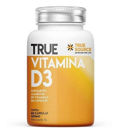 True Source Vitamina D 2000ui D3 60 Caps - True Source