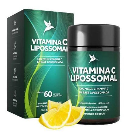 Vitamina C Lipossomal 1100mg 60 Cáps - Puravida Pura Vida