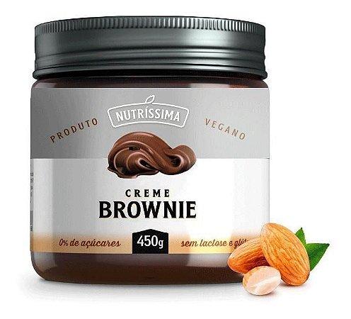 Nutrissima Creme Sem Açucar Brownie 450g - Creme Nutríssima