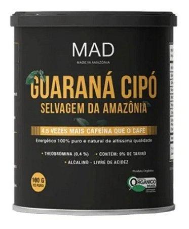 Guaraná Cipó Selvagem Da Amazônia 180g Orgânico - Mad4life