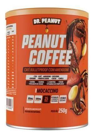 Café Termogenico Com Mct 250g (mocaccino) - Dr Peanut Coffee