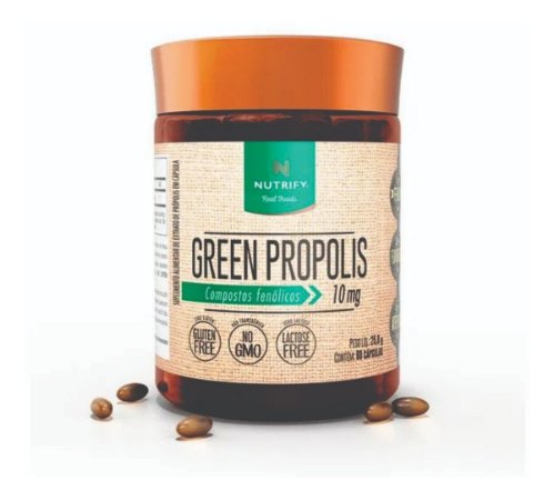 Green Própolis Nutrify Compostos Fenólicos 10 Mg - 60 Cáps