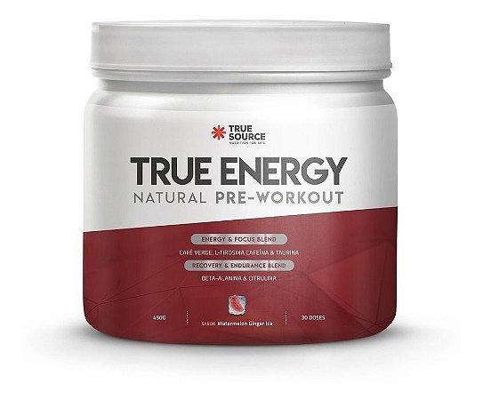Bebida Energetica True Energy Pre Treino 450g- True Source