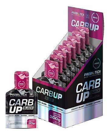 Carb Up Black Gel - Caixa C/ 10 Sachês De 30g - Probiótica