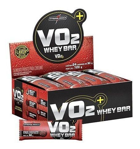 Barra De Proteina Vo2 Caixa C/ 24 Unidades Envio 24h