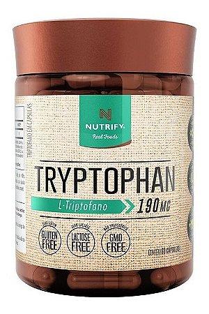 Tryptophan Precursor 5htp Serotonina 60caps Nutrify Original