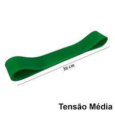 Rubber Band Elastico Pilates Fisioterapia Tensão Média