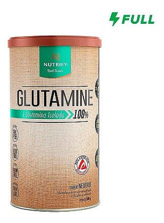 Glutamine 500g - Glutamina Isolada Pura Nutrify Original