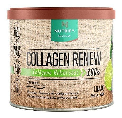Collagen Renew Hidrolisado Nutrify - 300g - Colágeno Verisol