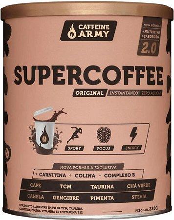 SuperCoffee 2.0 220g - Café Pré Treino Caffeine Army