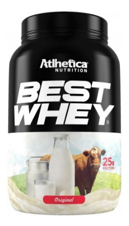 Best Whey Protein 900g - Atlhetica - Sabores