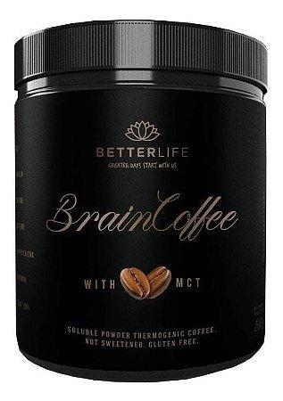 Braincoffee Café Termogênico Com Mct 200g Better Life