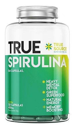 Spirulina 450mg (120 Caps) - True Source Espirulina