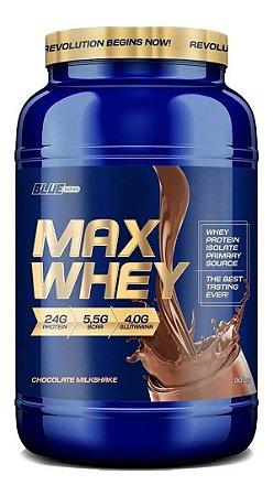Max Whey Isolado E Concentrado 907g - Blue Series