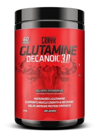 Glutamina Com Mct  Decanoic 3.0 (300g) Crnvr Muscle