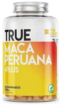 Maca Peruana Testosterona 1000mg (60 Caps) - True Source