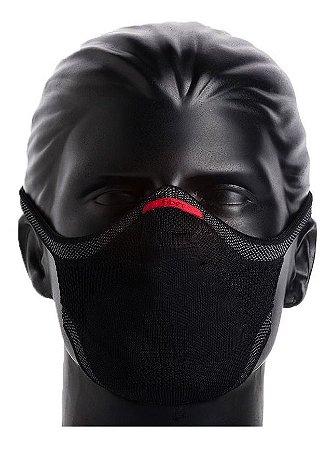 Máscara De Proteção Esporte Fitness Fiber Knit 3d C/ 1 Refil