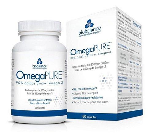 Bio balance Omegapure 60 Cápsulas - Omega Pure