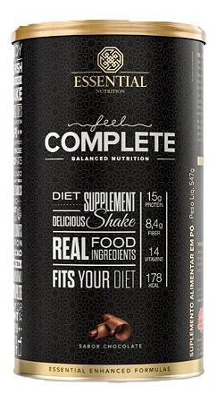 Feel Complete 574g Chocolate Lançamento Essential Nutrition