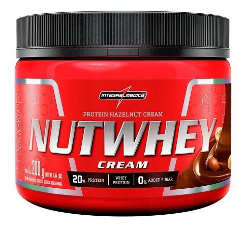 Nut whey Creme De Avelã Proteico 200g - Integralmédica