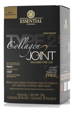 Colágeno Tipo 2 Collagen Joint 30 Sachês Essential Nutrition