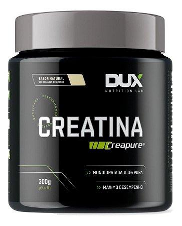 Dux Creatina Creapure 300g Matéria Prima Alemã Dux Nutrition