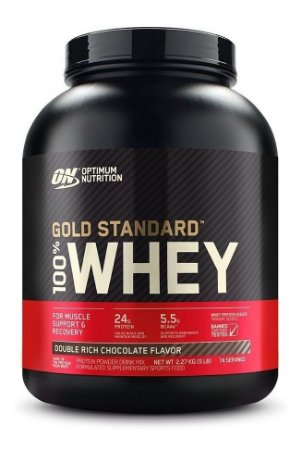 100% Whey Gold Standard 5lbs 2,27kg - On - Optimum Nutrition