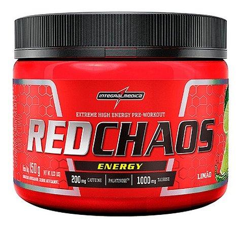 Pré Treino Red Chaos Energy Lançamento Integral Médica 150g