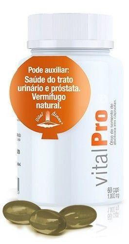 Vital Pro Pumpkin Seed 60 Cáps De 1.000mg Vit