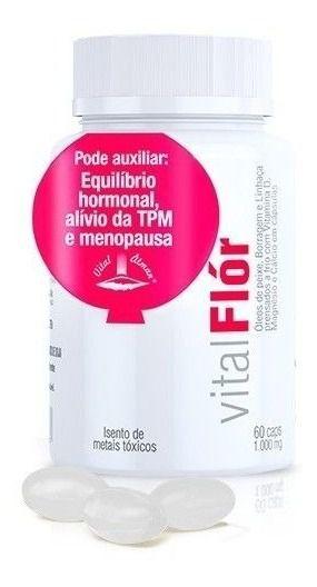 Vital Flor Oleo De Peixe, Borragem E Linhaça - Promoção
